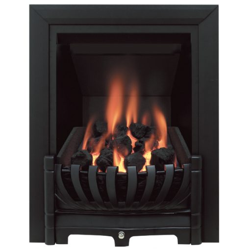 Avantgarde Gas Fire Black