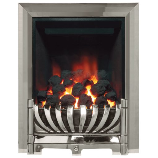 Avantgarde Gas Fire Chrome