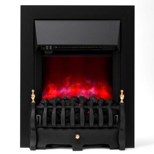 Cam berley Electric Fire Black