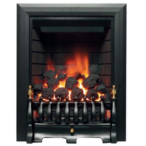 Classic Deep Gas Fire Black