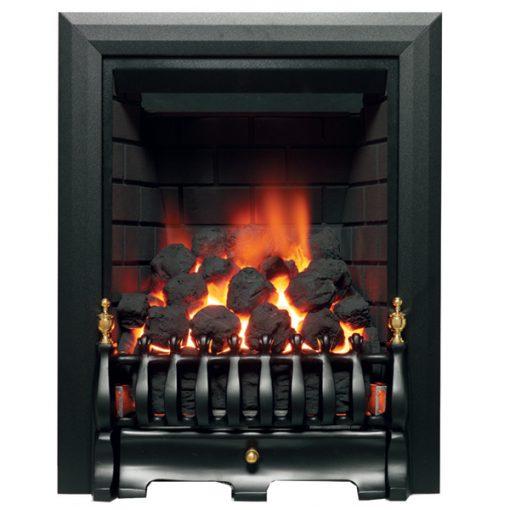 Classic Deep Gas Fire Black