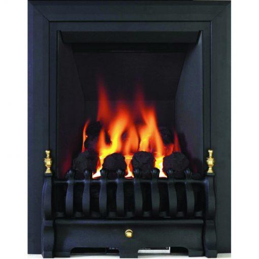 Classic Slimline Gas Fire Black