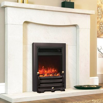 Electiflame Daisy black electric fire