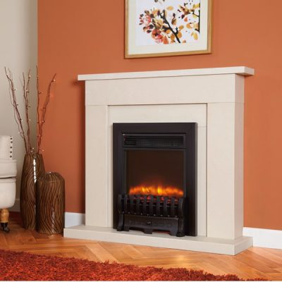 Electriflame Royale Black electric fire