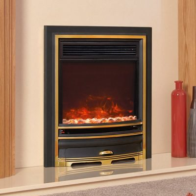 Electriflame XD Arcadia Gold electric fire