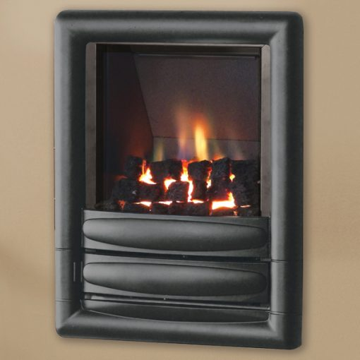 pure glow carmenhiw gas fire graphite