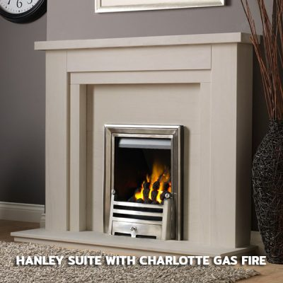 Hanley Suite With Charlotte Gas Fire