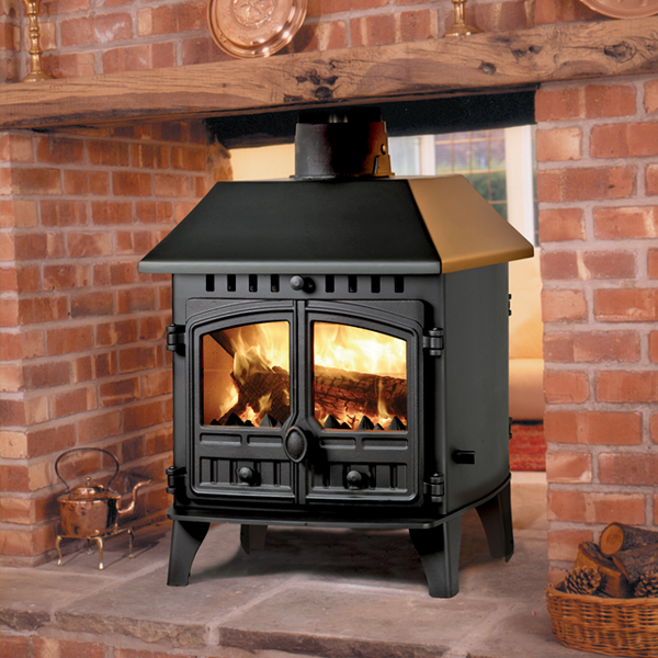 Hunter Herald 6 Double Sided Stove Click Heating