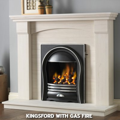Kingsford With Gas Fire