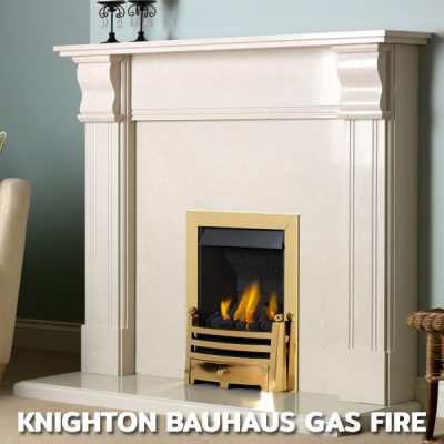 Knighton Bauhaus Gas Fire