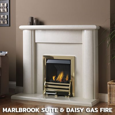Marlbrook Suite with Daisy Gas Fire