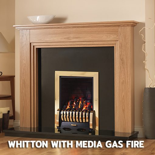 Whitton With Media Gas Fire