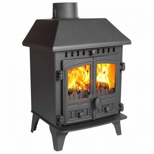 hunter herald 4multi fuel stove low canopy