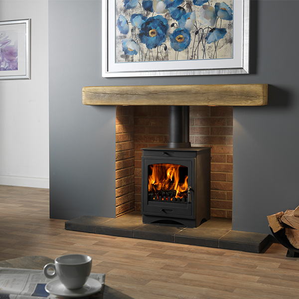 Gallery Helios 8 Clean Burn Multi Fuel Wood Burning Stove