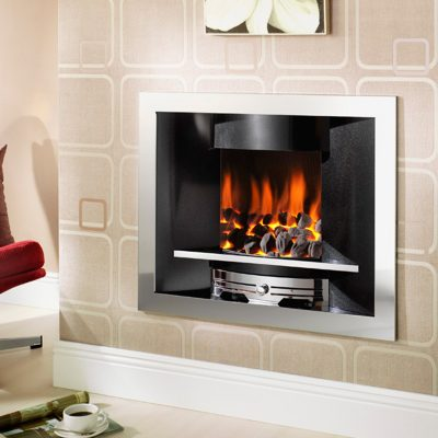 Crystal Fires Emerald Gas Fire