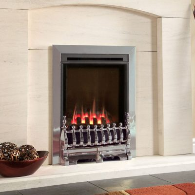 Flavel Windsor Traditional HE Gas Fire MC Silver